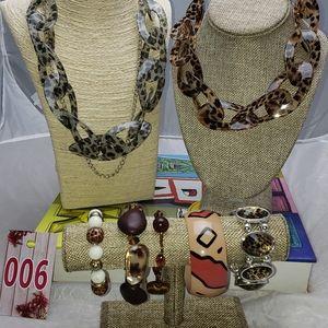 Jewelry - Animal Print Fashion Jewelry Necklace Bracelet 006